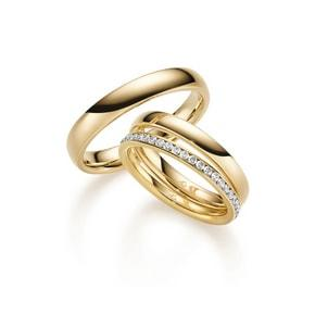 Gold Diamant Ringe