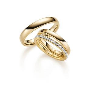 Gold Ringe aus  Neckargerach