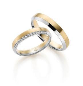 Gold Silber Ringe aus  Neckargerach