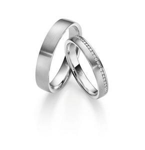 Silber Diamant Ringe aus Mosbach