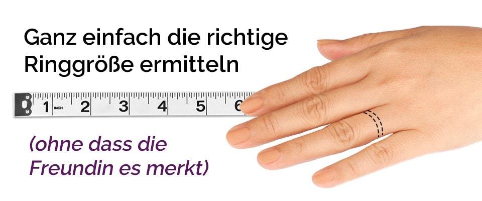 Ringgrößenschablone: So ermitteln Sie die optimale Ringgröße
